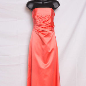 Cache Coral Formal Long Dress 4